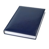 Blue Closed Book Stock Photography