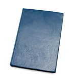 Blue closed book Royalty Free Stock Photography