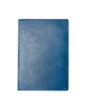 Blue closed book Royalty Free Stock Photos