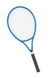 Blue Closeup Tennis Racket Stock Image
