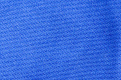 Blue cloth for background and design Royalty Free Stock Photos