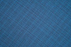 Blue cloth background fabric Stock Images