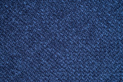 Blue cloth background fabric Stock Photography