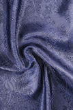 Blue cloth with cucumbers Royalty Free Stock Image