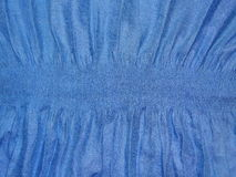 Blue cloth with elastic band Stock Images