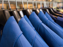 Blue cloth Stock Photography
