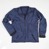 Blue cloth jacket Stock Photo