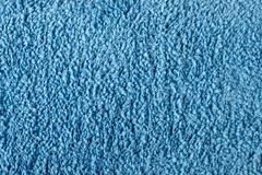 Blue Cloth Texture Royalty Free Stock Images