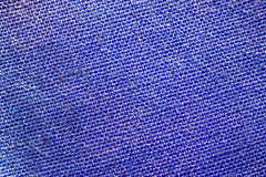 Blue cloth texture for background Stock Photo
