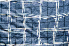 Blue cloth textures Stock Photo