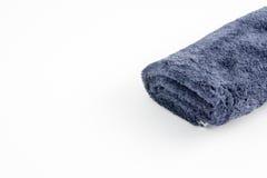 Blue cloth on white background Stock Photo