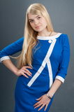 Blue clothes. Royalty Free Stock Photography