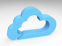 Blue Cloud Royalty Free Stock Image