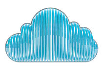 Blue cloud Royalty Free Stock Photo
