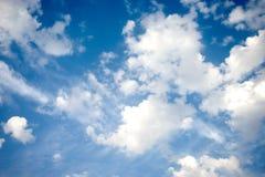 Blue cloud image Stock Photos