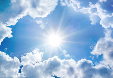 The divine sky Stock Image