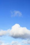 Blue Cloudly Sky 002 Royalty Free Stock Image