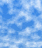Blue clouds Royalty Free Stock Images