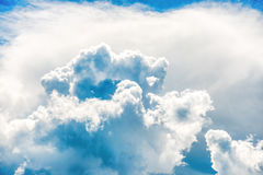 Blue clouds and sky Royalty Free Stock Photography