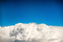 Blue clouds and sky Stock Photography