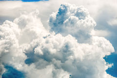 Blue clouds and sky Stock Image