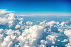 Blue clouds and sky Royalty Free Stock Photos