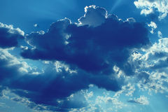 Blue clouds Stock Photo