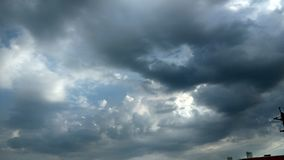 Thunderstorm clouds Royalty Free Stock Images