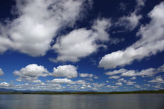 Blue Cloudy Sky Stock Photo