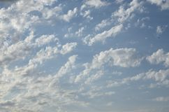 Blue cloudy sky.Background royalty free stock images