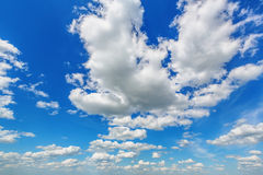 Blue cloudy sky Royalty Free Stock Photo