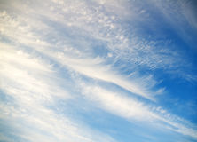 Blue cloudy sky Royalty Free Stock Images