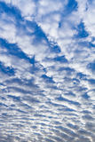 Blue cloudy sky. Royalty Free Stock Images