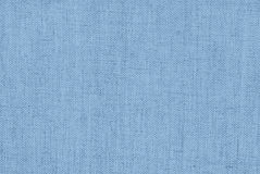 Blue coarse fabric Royalty Free Stock Images