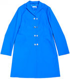 Blue coat Royalty Free Stock Photo