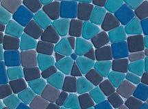 Blue cobblestone road Stock Image