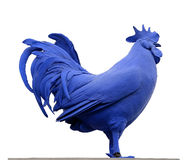 Blue Cockerel Trafalgar Square London Stock Image
