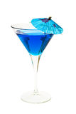 Blue cocktail Royalty Free Stock Photo