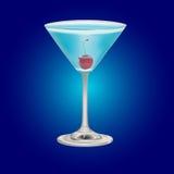 blue cocktail Stock Photos