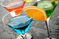 Free Blue Cocktail Drink Royalty Free Stock Photos - 13938708