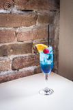Blue Cocktail Stock Image