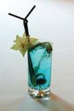blue coctail стоковое изображение rf
