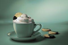 blue coffee Стоковая Фотография