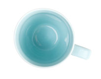 Blue coffee cup Royalty Free Stock Photo