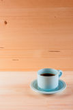 Blue coffee cup Stock Image