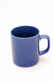 Blue coffee mug Royalty Free Stock Photography