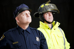 Blue Collar Heroes royalty free stock images