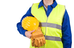 Blue collar worker. Stock Photography
