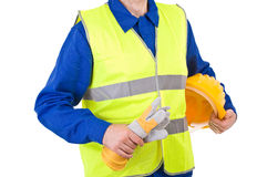 Blue collar worker. Stock Images