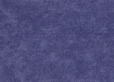 Blue color artificial leather pattern. Abstract background and texture for design Stock Photos